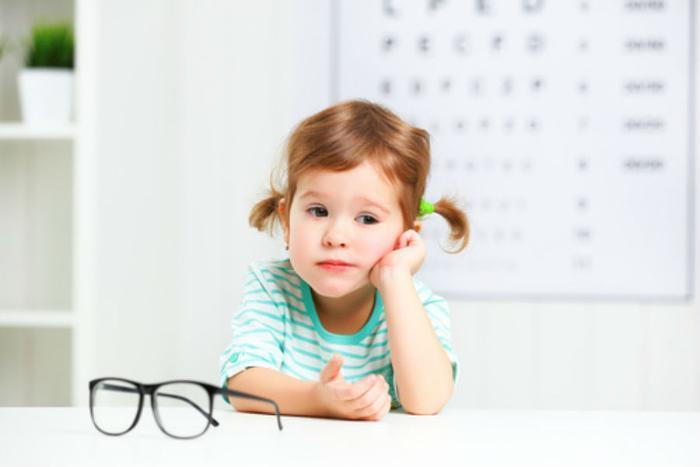 Children eye vision